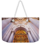 Entrance Of The Syracuse Baroque Cathedral In Sicily - Italy Weekender Tote Bag