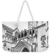 Entrance To Royal Courts Of Justice London Weekender Tote Bag