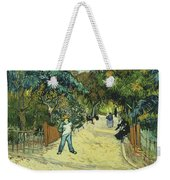Entrance To The Public Gardens In Arle Weekender Tote Bag