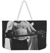 Ernest Hemingway Weekender Tote Bag by Granger