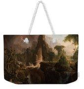 Expulsion From The Garden Of Eden  Weekender Tote Bag