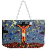Father  Forgive  Them Weekender Tote Bag
