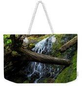 Fern Falls At Jedediah Redwoods State Park Weekender Tote Bag