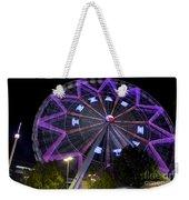 Ferris Wheel At The Texas State Fair In Dallas Tx Weekender Tote Bag