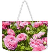 field of cultivated Buttercup  Weekender Tote Bag
