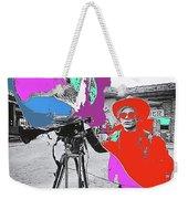 Film Homage Andy Warhol Lonesome Cowboys Old Tucson Arizona 1968-2013 Weekender Tote Bag