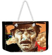 Film Homage Lee Van Cleef Spaghetti Westerns Publicity Photo Collage 1966-2008 Weekender Tote Bag