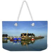 Fishing Boats At Whitstable Harbour 03 Weekender Tote Bag