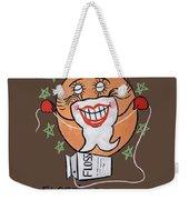 Flossing Tooth Weekender Tote Bag