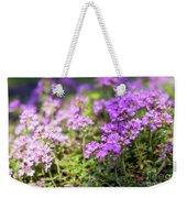 Flowering Thyme Weekender Tote Bag