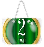 2 For Two Weekender Tote Bag