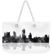 Fort Worth Texas  Skyline Weekender Tote Bag