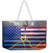 Fracking In The U.s Weekender Tote Bag