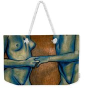 Friends Weekender Tote Bag by Thomas Valentine