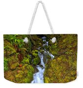 Streaming In The Olympic Rainforest Weekender Tote Bag