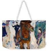 Galloping Horse Weekender Tote Bag
