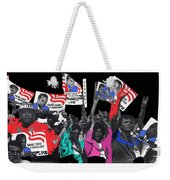 George Wallace For President Supporters Democratic Nat'l Convention Miami Beach Florida 1972-2013 Weekender Tote Bag