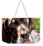 German Short Haired Pointer Weekender Tote Bag