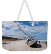 Ghost Ship Beached By Hurricane Irma Weekender Tote Bag