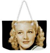Ginger Rogers, Legend Weekender Tote Bag