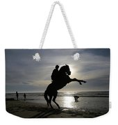 Horseback Riding Weekender Tote Bag