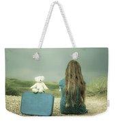 Girl In The Dunes Weekender Tote Bag