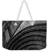Glasgow Cathedral Bw Weekender Tote Bag