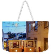 Gloria Funicular, Lisbon, Portugal Weekender Tote Bag