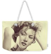 Gloria Grahame, Vintage Actress Weekender Tote Bag