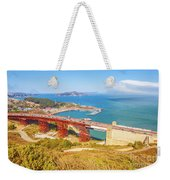 Golden Gate Bridge Vista Point Weekender Tote Bag