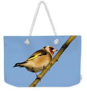 Goldfinch Weekender Tote Bag