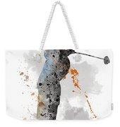 Golfer Weekender Tote Bag