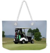 Golfing Golf Cart 04 Weekender Tote Bag