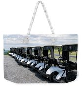 Golfing Golf Carts Weekender Tote Bag