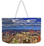 Grand Canyon #  4 - Mather Point Overlook Weekender Tote Bag