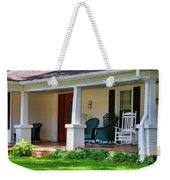 Grand Old House Porch Weekender Tote Bag
