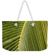 Green Palm Leaf Weekender Tote Bag