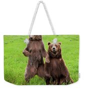Grizzly Bear Arctos Ursus Weekender Tote Bag
