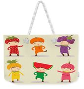 Happy Children  Weekender Tote Bag