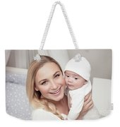 Happy Family At Home Weekender Tote Bag