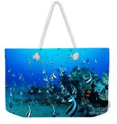Hawaiian Reef Scene Weekender Tote Bag