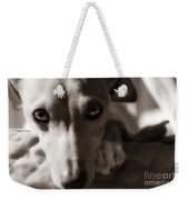 Heart You Italian Greyhound Weekender Tote Bag