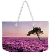 Heather At Sunset  Weekender Tote Bag