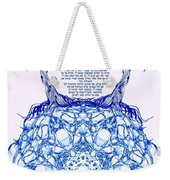 Hebrew Prayer- Toda- Thanks To The Lord Weekender Tote Bag