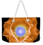 Hellebore Flower, X-ray Weekender Tote Bag