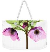 Hellebore Flowers, X-ray Weekender Tote Bag