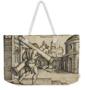 Hercules Carrying The Columns Of Gaza Weekender Tote Bag