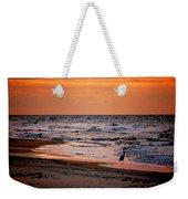 2 Herons On The Beach Weekender Tote Bag