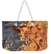 High Above Wash 3 In Valley Of Fire Weekender Tote Bag