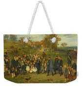 His Highness On A Journey Weekender Tote Bag